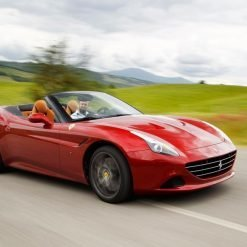Ferrari California T test drive in Maranello