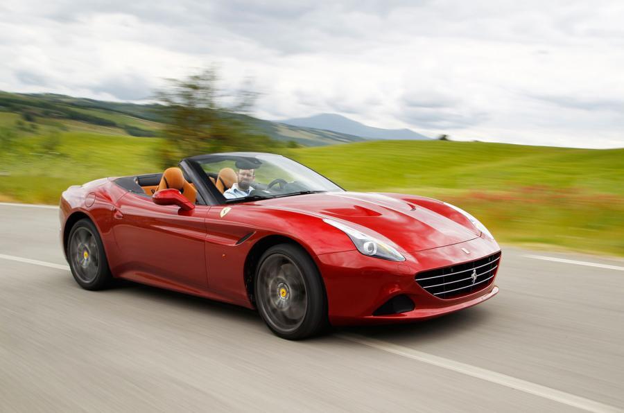 Ferrari California T test drive in Maranello