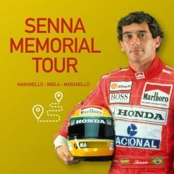 Senna Memorial Tour in Ferrari
